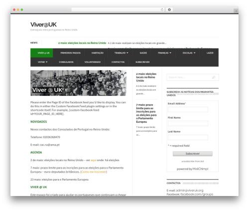 UrbanNews WordPress news template - viveruk.org