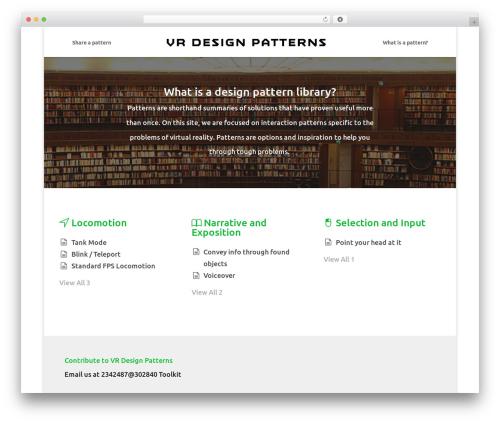 WordPress pressapps-knowledge-base plugin - vrdesignpatterns.com