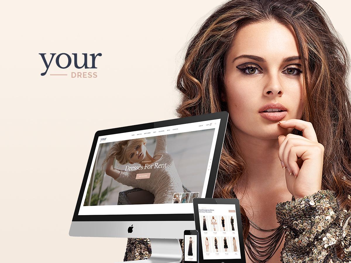 Your Dress WordPress blog theme