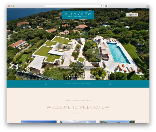 Bridge best WordPress template - villa-cview.com