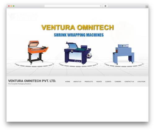 SKT White WordPress theme - venturaomnitech.com