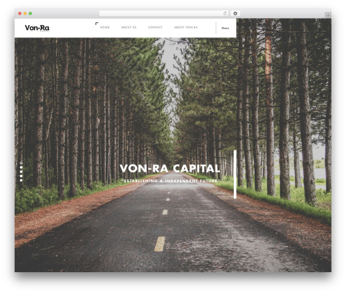Template WordPress Domik - vonracapital.com