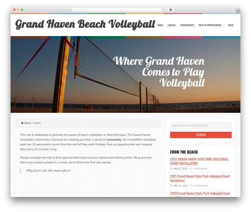 Theme WordPress GHB Child Theme (based on LiveBlog Theme) - volleyball.grandhavenbeach.com