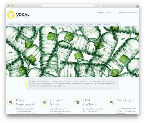 Theme WordPress riley - vogalprojects.com