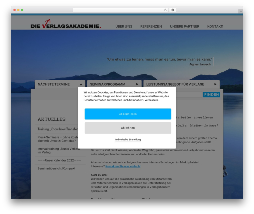 Free WordPress Companion Sitemap Generator plugin - verlagsakademie.de