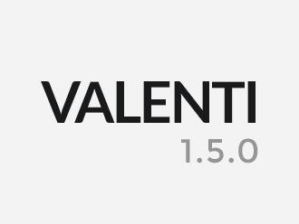 WordPress website template Valencia
