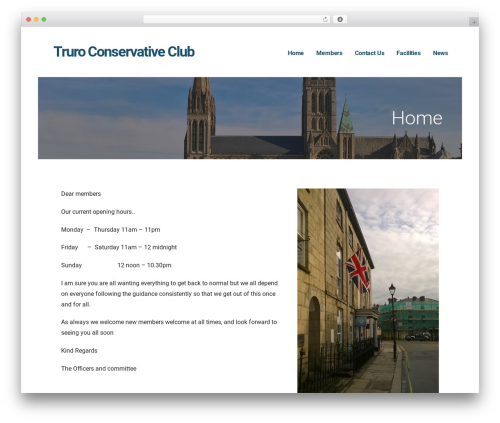 Ascension WP template - truroconservativeclub.co.uk