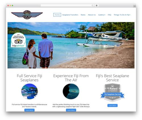 Best WordPress template The7 - turtleairways.com