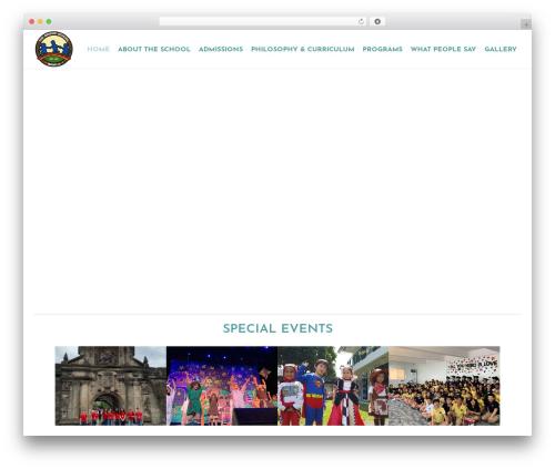 fro-child best WordPress template - thebridgeschool.ph