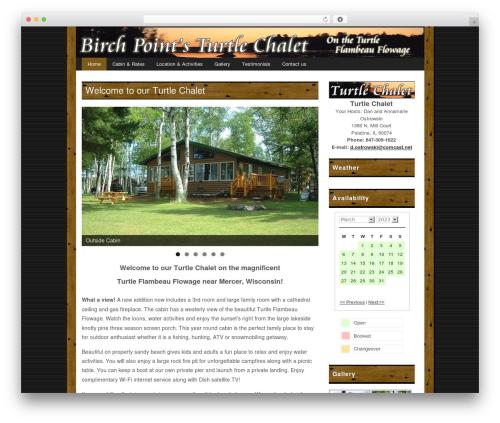 Free WordPress WP Simple Booking Calendar plugin - turtlechalet.com