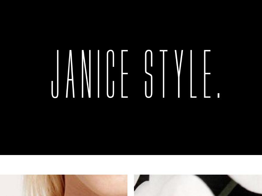Janice template WordPress