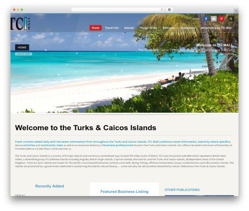 Kallyas Child Theme best hotel WordPress theme - tcimall.tc