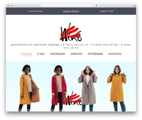 Kustrix WordPress theme - td-viko.ru