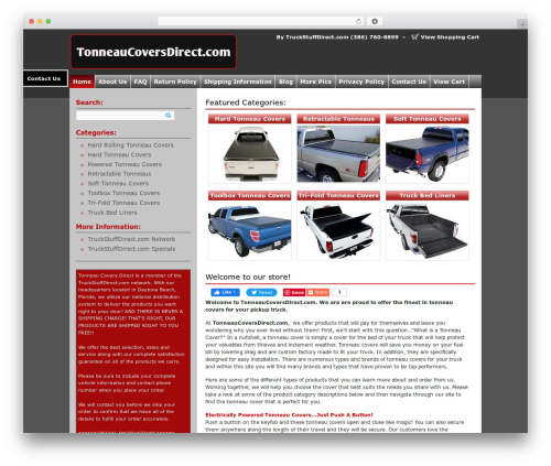 Market Theme WordPress theme - tonneaucoversdirect.com