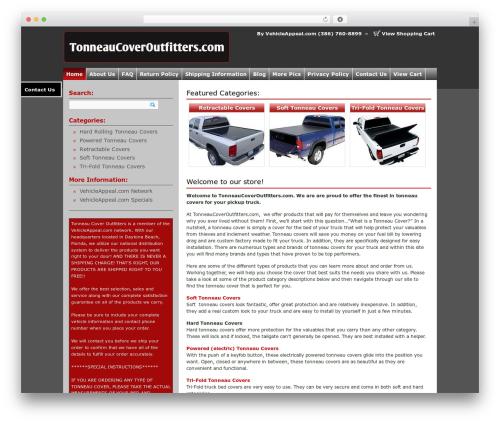 Market Theme WP template - tonneaucoveroutfitters.com