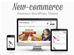 New-Commerce WordPress ecommerce theme