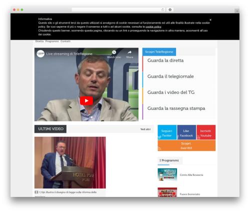 NewsZone WordPress movie theme - teleregionemolise.it