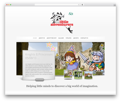 SimplePress top WordPress theme - thelittleadventurers.co.uk
