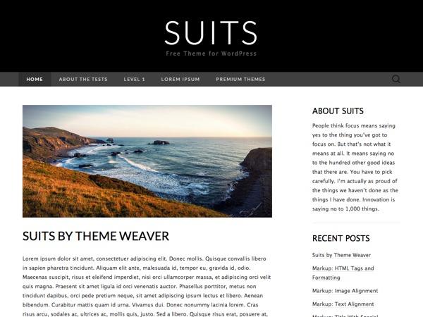 Suits Child WordPress theme