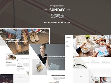 Sunday Child Theme WordPress theme