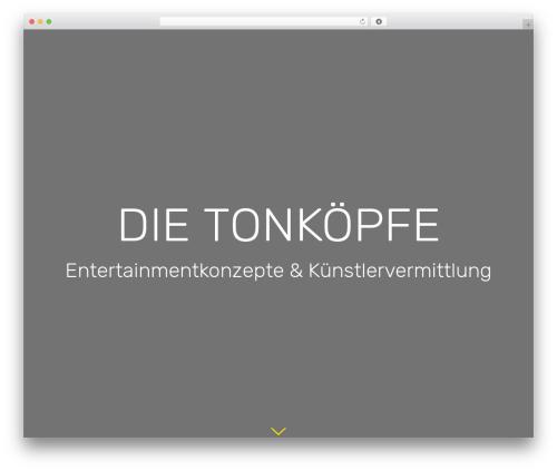 Template WordPress Avada - tonkoepfe.de
