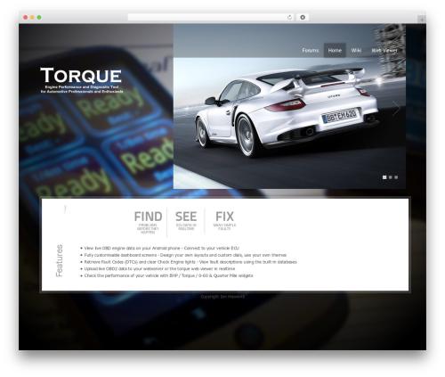 Theme WordPress Cars Dealer - torque-bhp.com