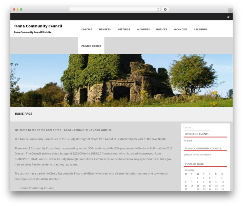 Theme WordPress Formation - tonnacommunitycouncil.com