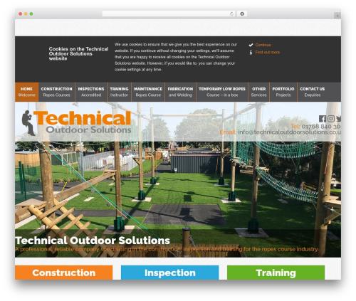 Themify Minshop WordPress ecommerce template - technicaloutdoorsolutions.co.uk