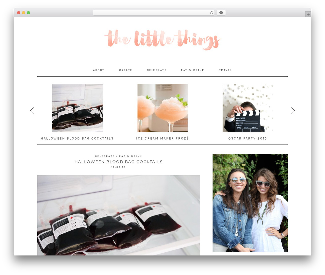 Twenty Sixteen WordPress theme - thelittlethingsdiy.com