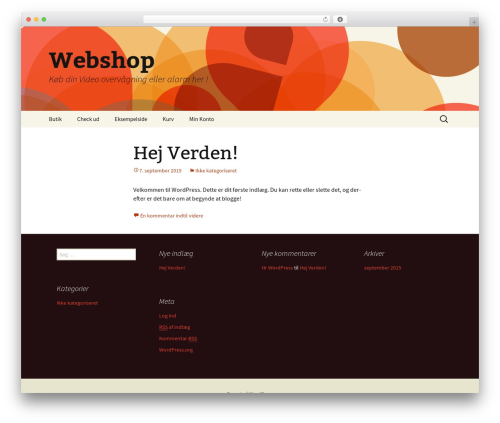 Twenty Thirteen template WordPress free - telecpu.dk