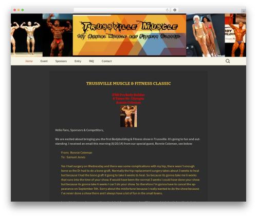 Twenty Thirteen WordPress template free download - trussvillemuscle.com