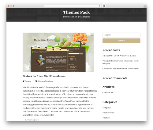 UNISCO WordPress theme free download - themespack.com