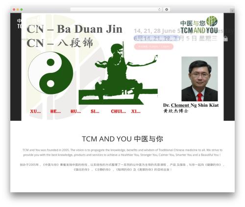 WordPress template Versatile - tcmandyou.com