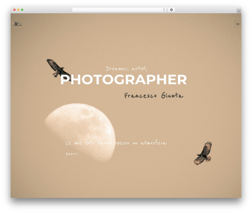 WordPress website template Ronneby - francescogiunta.net