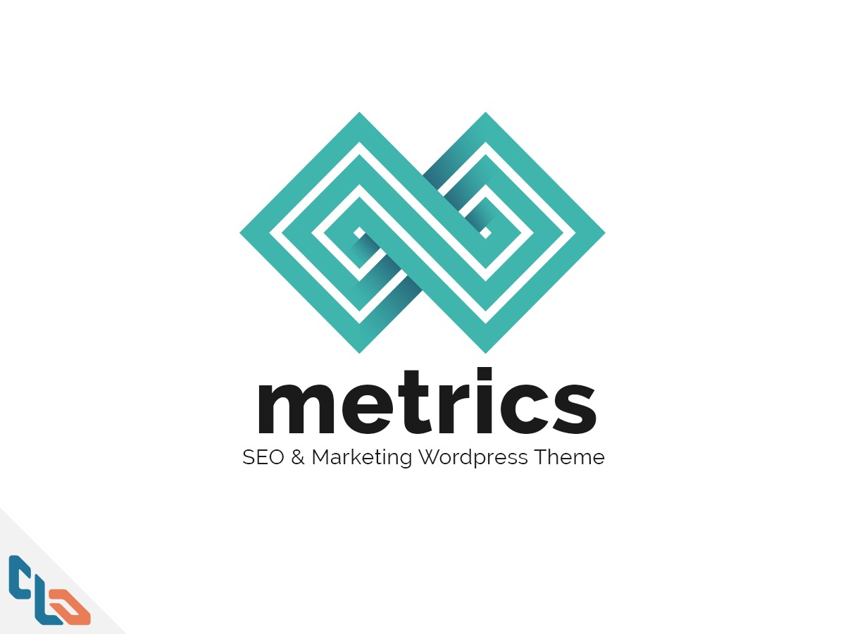 WP Metrics business WordPress theme
