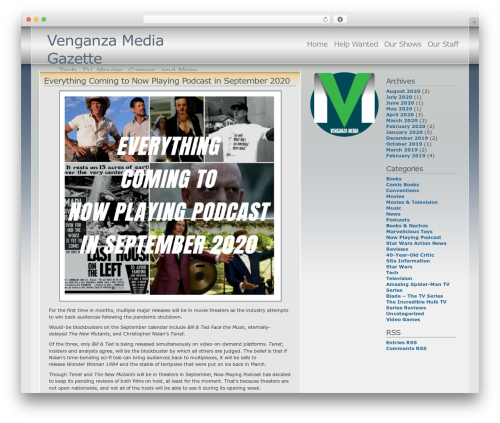 Andreas04 WordPress page template - venganzamedia.com