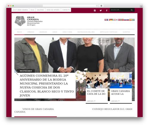 Best WordPress theme Bucket - vinosdegrancanaria.es