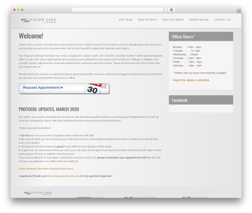SKT Coffee WordPress theme download - visioncarelincoln.com