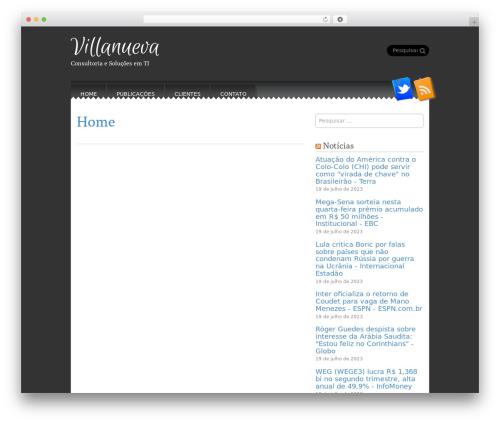 Template WordPress Snowblind - villanueva.com.br