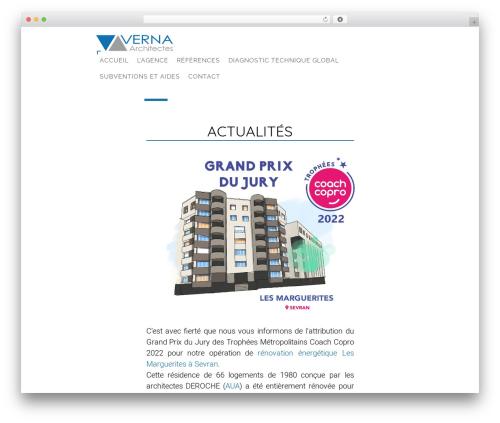 Theme WordPress Domik - verna-architectes.com