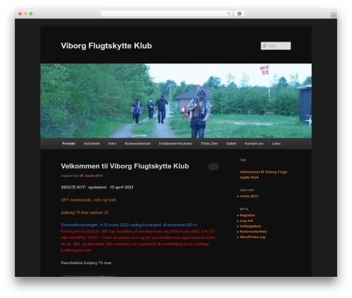 Twenty Eleven template WordPress free - viborgflugt.dk