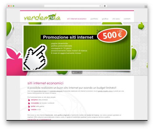 Free WordPress WP Simple Galleries plugin - verdemela.it
