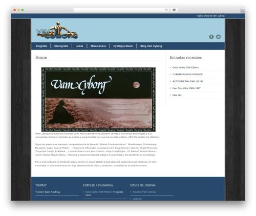 WordPress template Modernize - vamcyborg.com