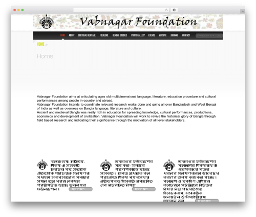 Delicate News newspaper WordPress theme - vabnagarfoundation.com