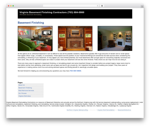 Zack 990 WordPress theme - virginiabasementfinishingcontractors.com