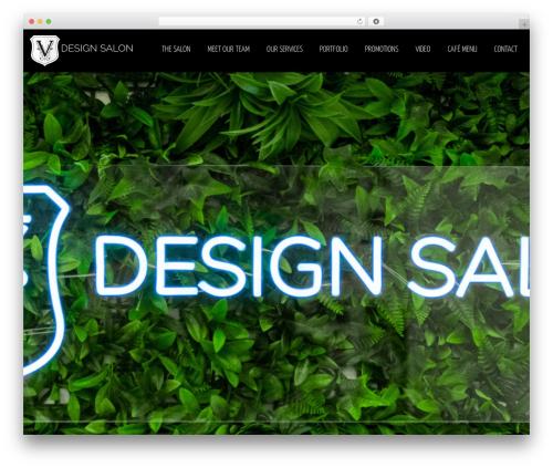 blackair best WordPress theme - vdesignsalon.co.uk