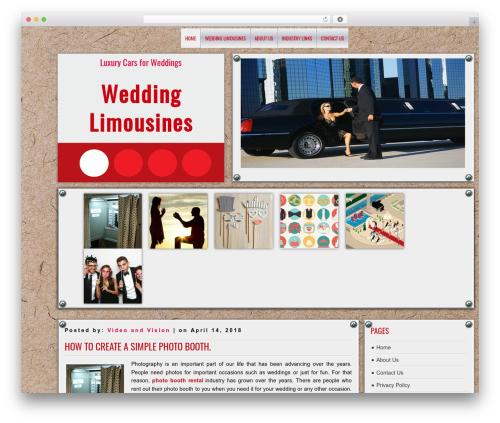 DISCUSSION free WP theme - videoandvisionweddings.com