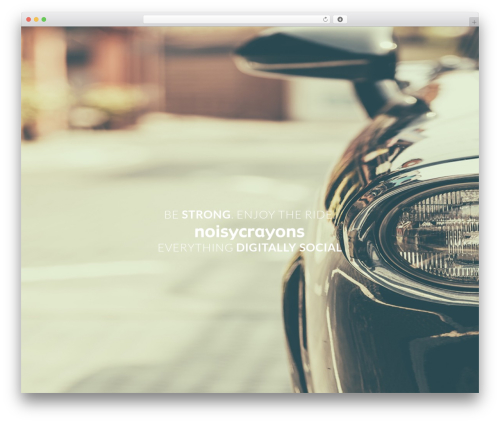 Duelmotion WordPress template for business - noisycrayons.com