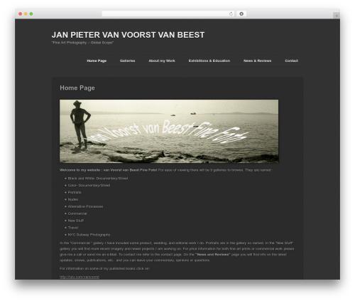 Photography PRO best WordPress gallery - vanvoorstvanbeestfinefoto.com