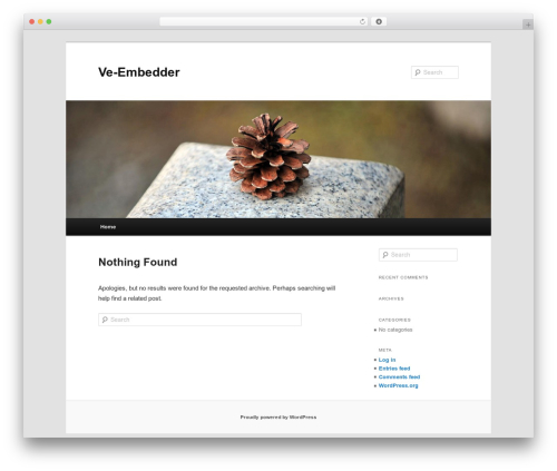 Twenty Eleven top WordPress theme - ve-embedder.com